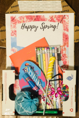 These spring care package free printables will make your job a breeze!