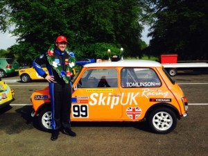 The SkipUK Mighty Mini takes a place at Cadwell Park