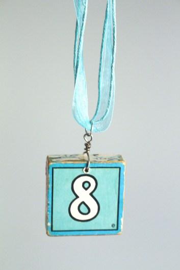 8 Block Necklace