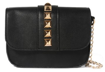 forever-21-studded-chain-strap-crossbody-bag-black-valentino-rock-lock-knockoff - Copy