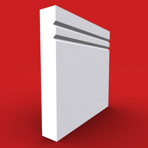 square edge 2 v grooved profile