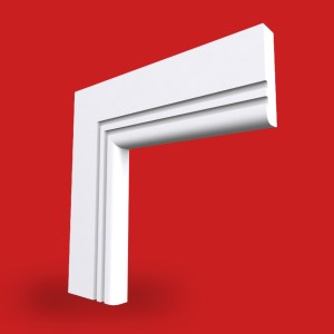 bullnose square grooved 2 architrave