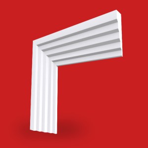 profile of 3 stepped architrave