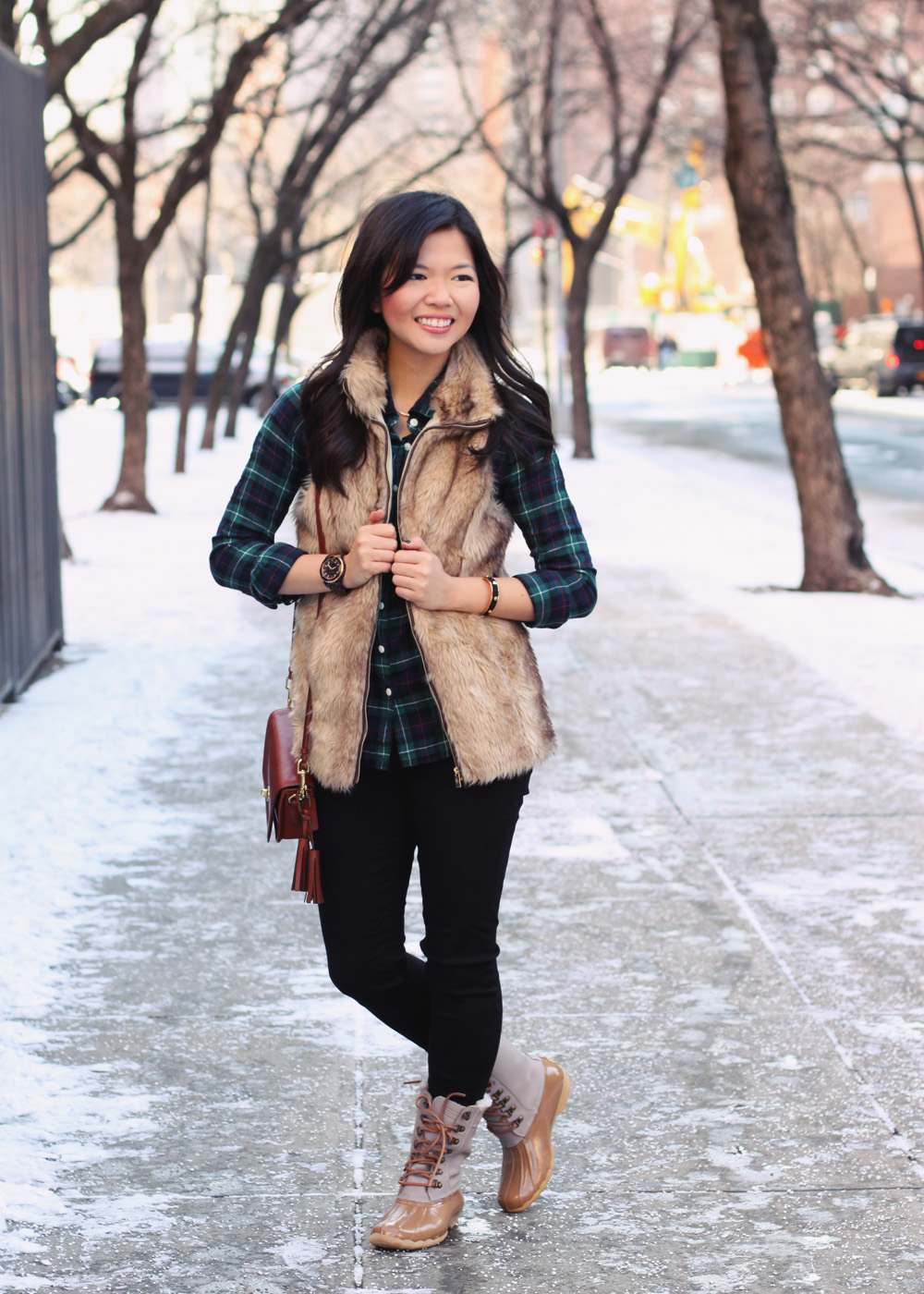 Flannel Fur Skirt The Rules Life Amp Style In Nyc