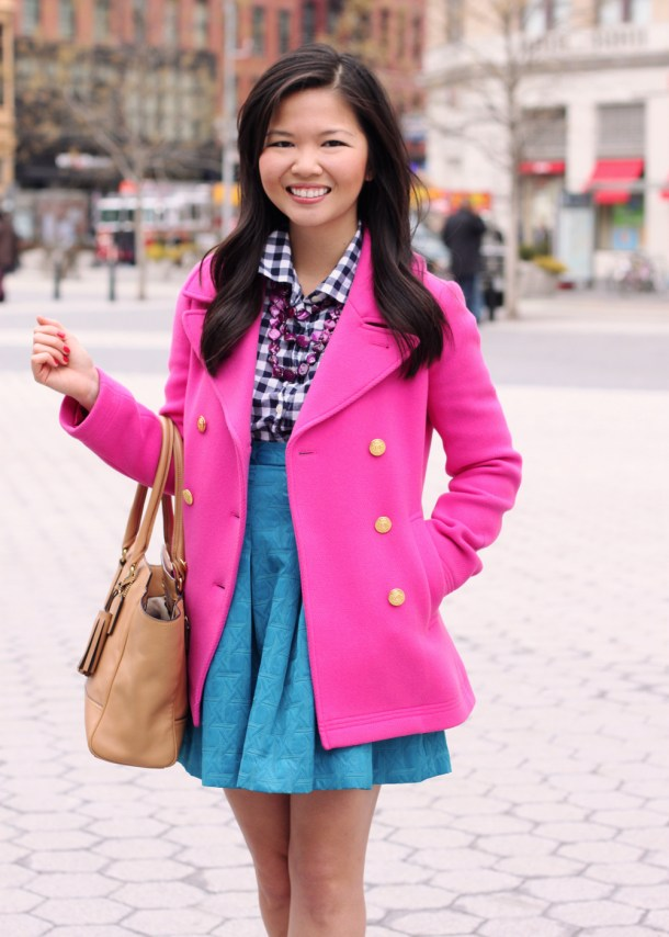 Pink Patterns Skirt The Rules Life Amp Style In Nyc