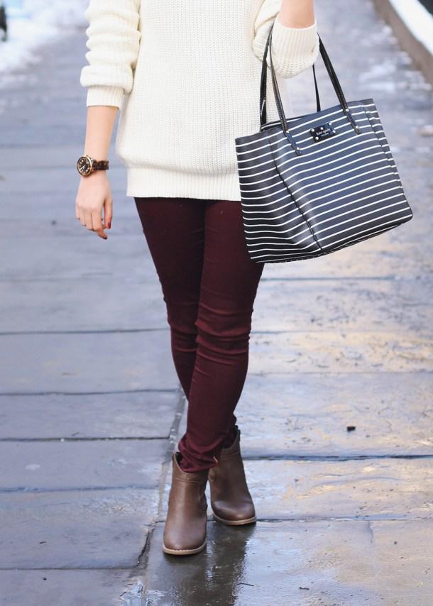 Zara Oxblood Pants