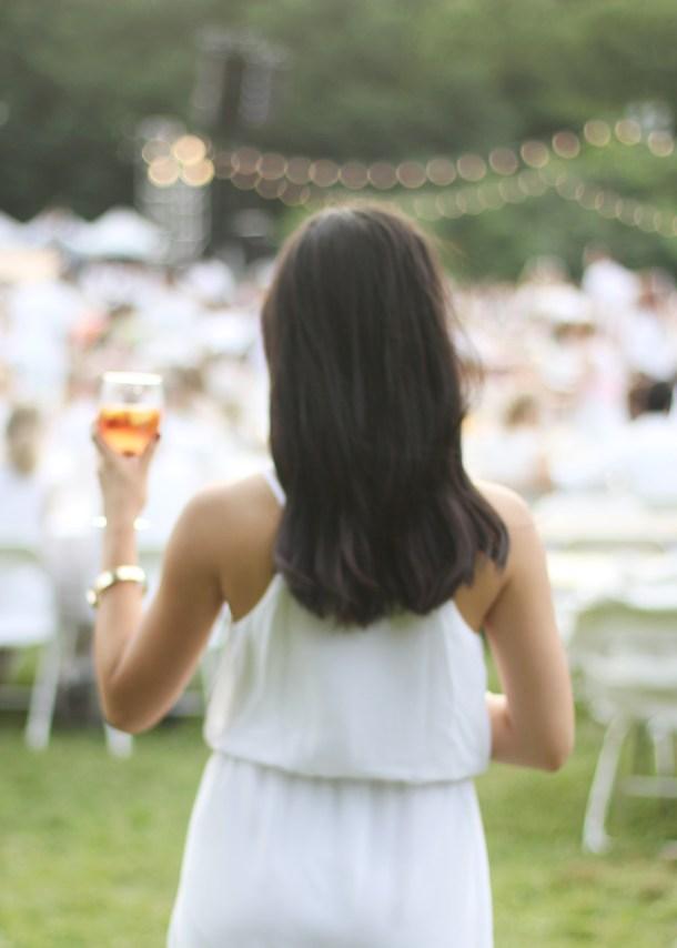 White Dress & Rosé Sangria