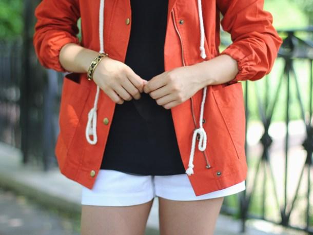 Nautical Inspired Anorak Jacket by LOFT