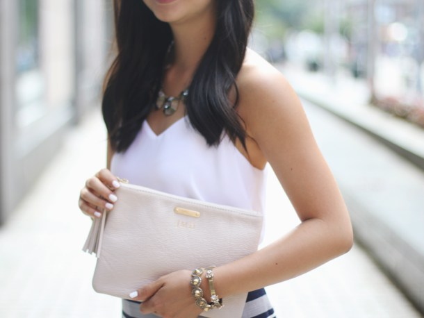 GiGi Pebble Leather All in One Clutch