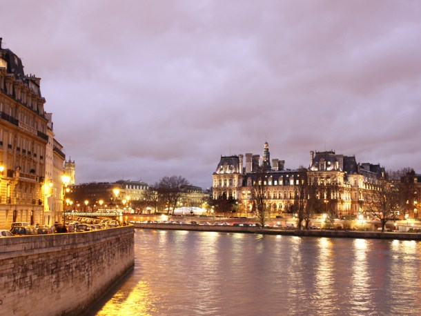 Seine River at Dusk