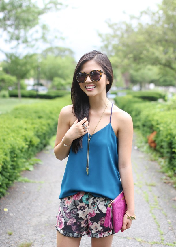 Skirt The Rules // Jewel Tones for Summer