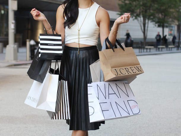 Skirt The Rules // Shopaholic Problems