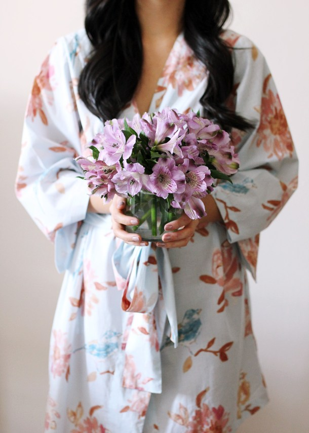 Skirt The Rules // Floral Robe