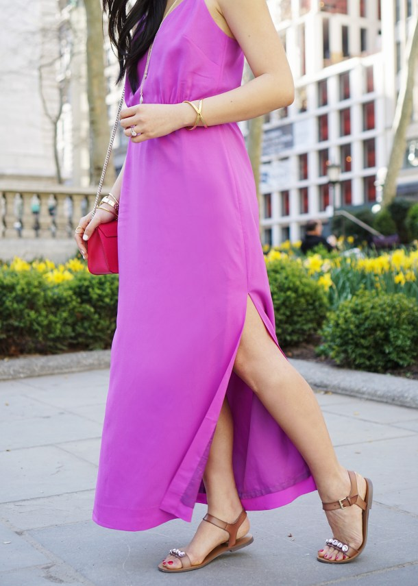 Skirt The Rules / Orchid Maxi Dress