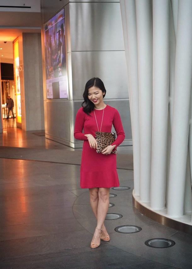 Skirt The Rules Pink Longsleeve Dress 2