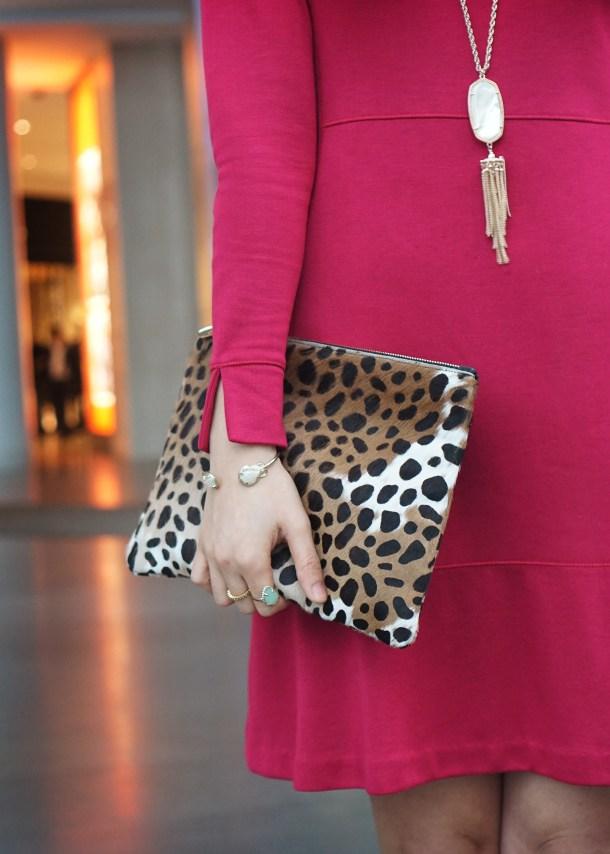 Skirt The Rules Pink Longsleeve Dress 4