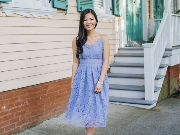 Spring Style Inspiration / Lace Cami Dress