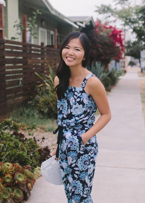 Summer Style Inspiration / Pineapple Print Jumpsuit