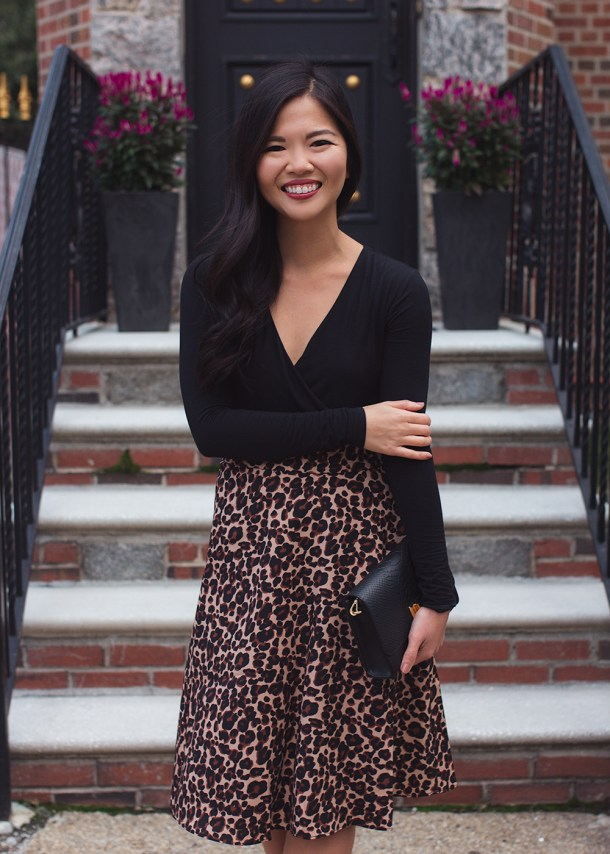 How to Wear Leopard Print in Your 30s