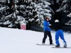 one to one snowboard lessons in poiana brasov