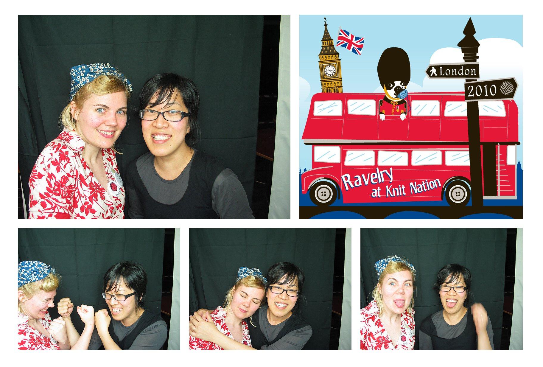 More photo booth fun