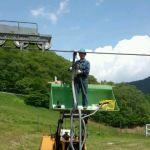 ニュース:スキーリフト架け替え ニセコ
