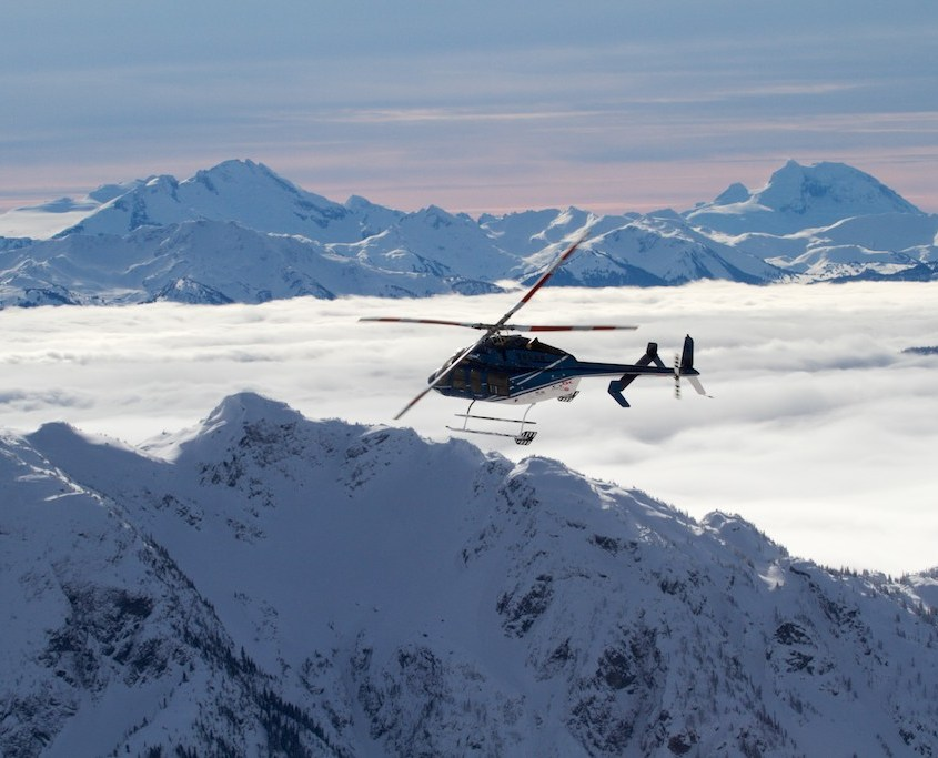 Whistler Blackcomb: Heli-Skiing (Photo by Erik Graham)