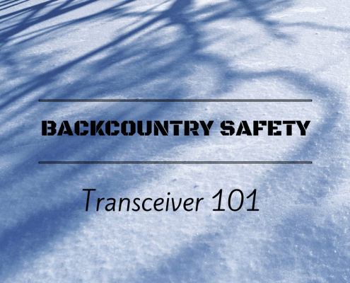 Transceiver beacon 101 guide for backcountry safety