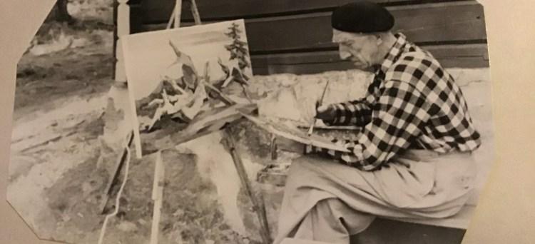 Kunstmaler Erling Merton (1898 - 1967)