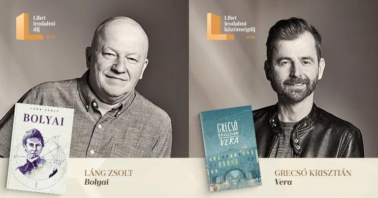 Megvannak a Libri irodalmi díj győztesei