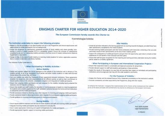 ERASMUS harta bilde