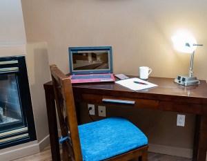 Work Desk in Room, Whitehorse, Yukon
