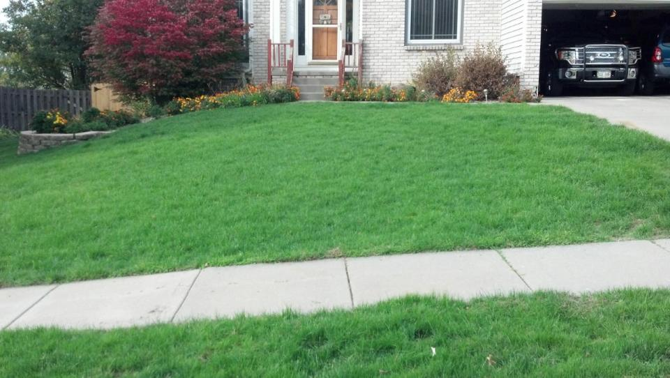 Lawn, Landscape, Mowing. Seed, Fertilizer, Lawn Care, SK Lawn Care