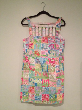 Item 2: Lilly Pulitzer State Print Dress. This dress I feel embodies my job in the perfect way by showcasing all 50 states! While I have not been to all 50 states I love to wear this dress at chapters and look at what their state print is.