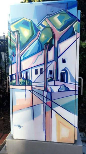 Vibrant art on every corner.