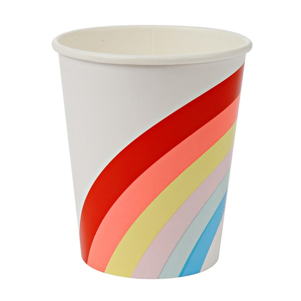 Rainbow Large cups
