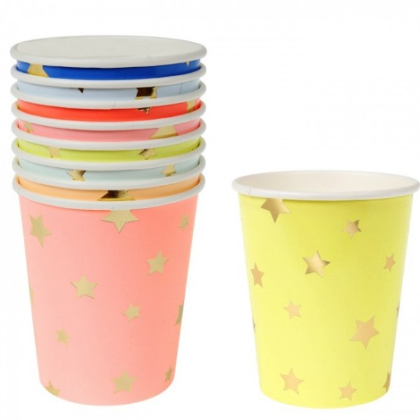 jazzy star party cups