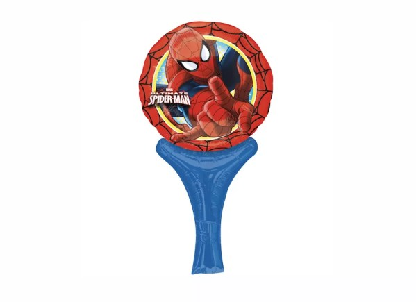 BALON FOLIOWY SPIDERMAN 15 X 30 CM