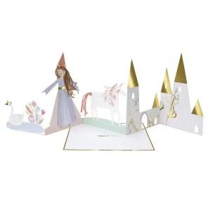 KARTKA URODZINOWA 3D KSIĘŻNICZKA MERI MERI