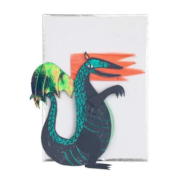 KARTKA URODZINOWA 3D SMOK MERI MERI 2