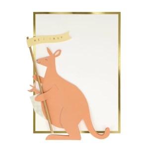 KARTKA URODZINOWA 3D KANGUR MERI MERI