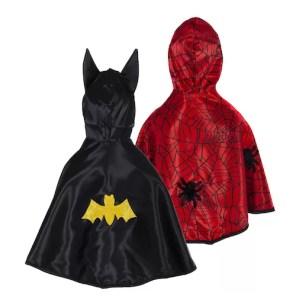 DWUSTRONNA PELERYNA BATMAN SPIDERMAN