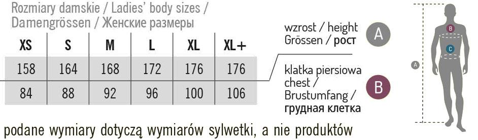rozmiary koszulki fotograficzne damskie