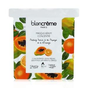 MASKA PEELING papaja i pomarańcza