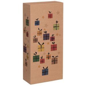 Pudełko na butelki Christmas Surprise 2x0,75l