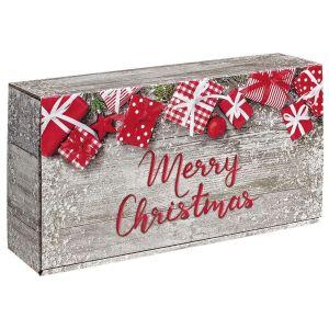 Pudełko na prezenty Merry Christmas 2x0,75l