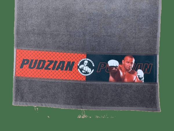 Szary ręcznik Pudzian Team