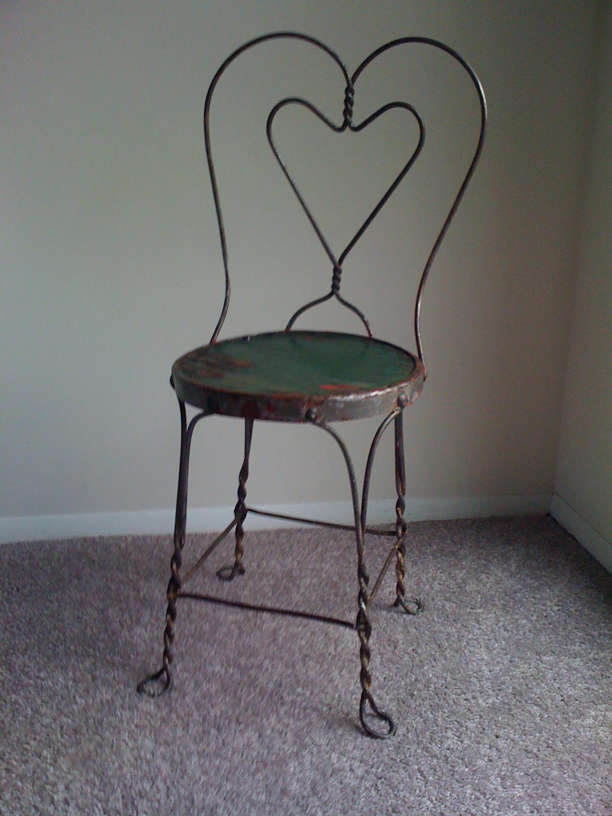 Luscious Ice Cream Parlor Chair Skl New York