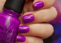 Лак для ногтей: China Glaze – Highlight Of My Summer и Are You Jelly?