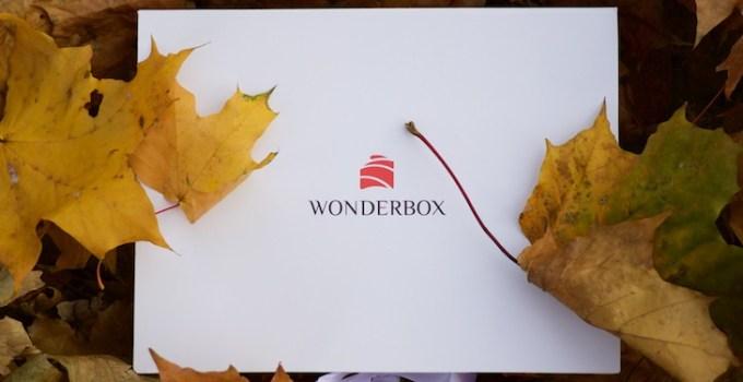 юбилейная Wonderbox сентябрь 2014